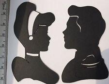 Disney inspirado en Cenicienta formas troqueladas (x8). Ideal Para Tarjetas/Tarros De Hadas