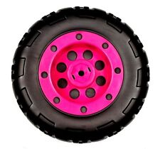 Peg Perego 12 Volt Battery Powered Pink Coral T-Rex Quad Bike Front Wheel