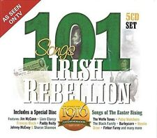 101 Songs Of Irish Rebellion - Various Artist (2016, CD NIEUW)5 DISC SET
