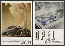 O. farbreklame Bernd reuters voiture Aigle 2,5 L électricité ligne Berlin victoires pilier 1939