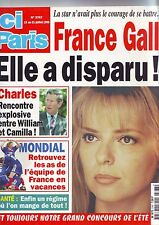 ici paris - 2767 - france gall - elle a disparu - charles william et camilla -
