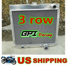 3 ROW RADIATOR FOR FORD MUSTANG,MERCURY COUGAR 289,302,351 W/O AC V8 67-69
