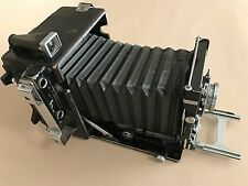 Graflex Speed Graphic 4X5 Camera with Graflex Optar f4.7 135mm Lens
