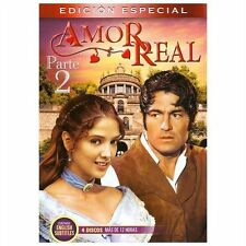 AMOR REAL PART 2 Special Edition - TELENOVELA - 4 DVDS - BRAND NEW - LATIN