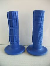 New Blue Yamaha Handlebar Grips Yz Yzf Dtr Xt Xtz Dt Wr