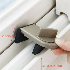Security Sliding Door Window Lock Safety Lock Sliding Sash Stopper For Kids HU