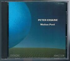 PETER ERSKINE MOTION POET  CD MADE IN JAPAN