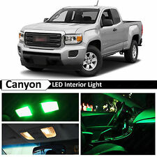 15x Green LED Light Interior Package Kit for 2015 & up GMC Canyon + TOOL