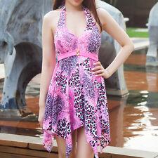 New Women One Piece Swimdress Swimwear Swimsuit AU Size 8 10 12 14 16 18 #8785