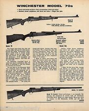 1977 WINCHESTER Model 70, 70A,  Varmint RIFLE AD