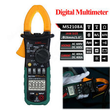 AIMO MS2108A Digital Clamp Meter Multimeter AC DC Current Volt Tester Auto Range