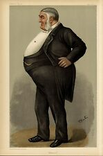 HORSE RACING STOCK OWNER AND MANAGEMENT KEPTON PARK VANITY FAIR 1903 CARICATURE