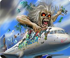 Iron Maiden Eddie Flight 666 Colour Mousemat