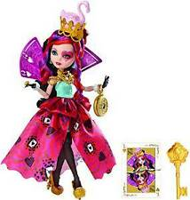 Ever After High Way Too Wonderland Lizzie Hearts Doll CJF43-CO