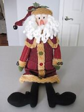 Tall Sitting Santa Decoration / Holiday Decoration / NEW