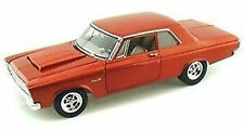 1:18 route 61 1965 plymouth belvedere-sedona Orange