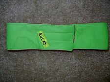 Vtg BULA Bright Neon Green SKI HEADBAND Warm Winter Snow Board Beanie OLIN SKIS