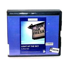 BOOK/AUDIOBOOK CD Moss Hart LA Theatre Works Humor LIGHT UP THE SKY