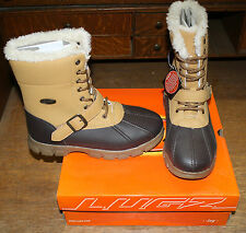 LUGZ YETI HIGH BOOTS BYETGV-706 YOUTH SIZE 12 WHEAT/BRN NEW IN BOX FREE SHIPPING