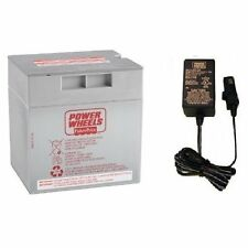 12 Volt Gray Battery Charger COMBO Power Wheels Fisher Price Grey 12V 00801-0638