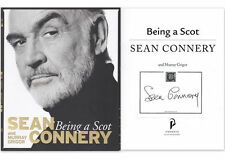 SEAN CONNERY - BEING A SCOT personally signed paperback version