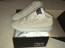 CROOKS & CASTLES FOOTWEAR REDFOOT GREY SZ 9 DEADSTOCK NEW supreme palace