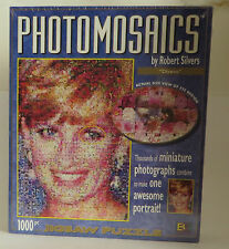 Diana Princess of Wales Photomosaics Puzzle by Robert Silvers 1000 Pieces SEALED