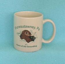 Punxsutawney, PA Home of the Groundhog Mug