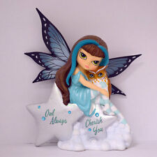 Owl Always Cherish You Fairy - Mystic Visions Moon Owl Jasmine Becket Griffith