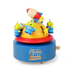New Toy Story Alien Rocket Music Box - Disney collection not buzz lightyear