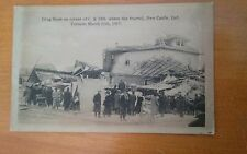 Drug Store Where Fire Started, New Castle, Ind. - Real Photo - VintagePost Card