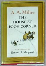 THE HOUSE AT POOH CORNER ~ A.A. MILNE ~ ILLUSTRATED ERNEST H. SHEPARD ~ HC