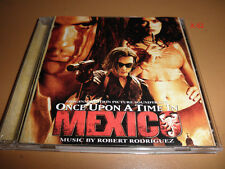 ONCE UPON a TIME in MEXICO soundtrack CD robert RODRIGUEZ johnny depp banderas
