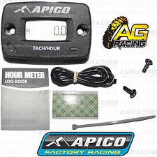 Apico Contador horas sin soporte de RPM Tach tachmeter para SUZUKI RMX RM H. Dr DRZ