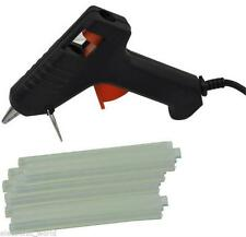 TRIGGER ELECTRIC HOT MELT GLUE GUN PLUS 50 ADHESIVE STICKS FOR HOBBY CRAFT MINI