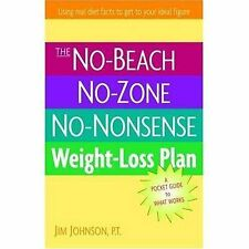 NO-BEACH NO-ZONE NO-NONSENSE WEIGHT-LOSS PLAN: A Pocket Guide to What Works,Jim
