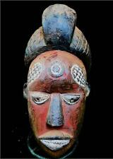 Old Tribal Rare Kuyu Mask  --- D R Congo   BN 6