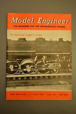 R&L Mag: Model Engineer 17 July 1958 Steam Engine Lubricators/Ship Modelling