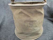 US WWII ARMY COLLAPSIBLE BUCKET 1944 LARGE SIZE FOR JEEP