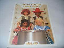 Annette Himstedt Puppen Kinder - Prospekt 1994/95 (meine Pos-Nr. 07)