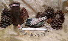 Smudge Kit: Abalone Shell, Instructions,1 California White Sage, Feather