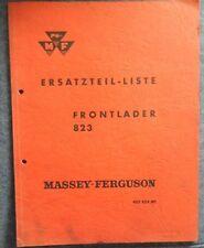 Massey Ferguson Frontlader MF 823 Ersatzteilliste