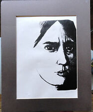 Limited Edition Print by Maio Number 9/10 Woman's Face Emotional