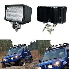 2PCS 45W FLOOD LED Work Light Truck SUV Boat Tractor Driving Fog Off Road Lamp