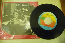 """THE DISTRACTIONS"""" IT DOESN'T BOTHER ME-disco 45 giri ISLAND Italy 1979"""""""