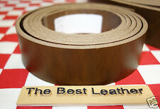 "HORWEEN GOLDEN BROWN CHXL 9oz LEATHER 12.5""x 1.5"" BLANK BELT STRAP 1st. QUALITY"