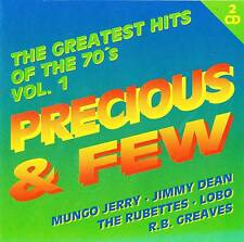 Musik Doppel CD Sampler The greatetest Hits of the 70´s Vol. 1 Precious & Few