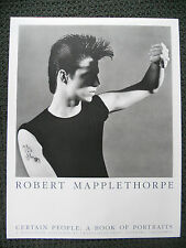 "1985 ROBERT MAPPLETHORPE ""CERTAIN PEOPLE"" Poster (25in x 20in) Iconic Image!!"