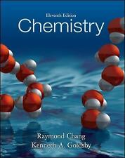 Chemistry, 11th Edition by Kenneth A. Goldsby, Raymond Chang. 0073402680 Hardcov