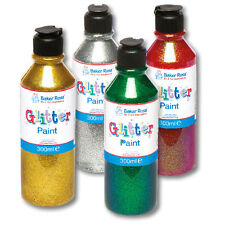 Green Glitter Paint Kids and Adult Arts&Crafts Painting Crafting Supplies 300ml